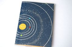 PASSPORT COVER - Our Solar System