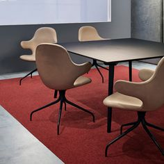 Interfacen tekstiililaatoissa sisustuksellisuus kohtaa käytännöllisyyden│Laattapiste Waiting Area, Contemporary, Modern, Entrance, Dining Chairs, Minimalist, Lounge, Flooring, Architecture