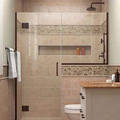 """DreamLine Unidoor-X 60.5"""" x 72"""" Hinged Shower Door Trim Finish: Oil Rubbed Bronze"""