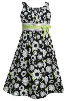 Size-20.5, Black/White, BNJ-5697M, Black White Green Daisy Floral Print Dress,Bonnie Jean Girl Plus-Size Special Occasion Party Dress Bonnie Jean,http://www.amazon.com/dp/B00DE1MO88/ref=cm_sw_r_pi_dp_nmjXrbF18D3A49B0