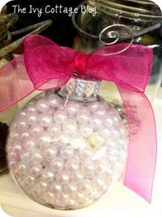 cute ornament DIY... Tri Sigma craft