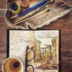 Ivan Seymus @provence_dessinauteur Adding some color...Instagram photo | Websta (Webstagram)