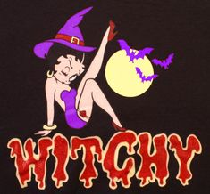 Witchy Betty Boop