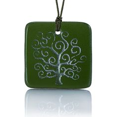 Moneta Jewelry, Recycled Glass Tree of Life Pendant Necklace, Handmade, Fair Trade, Unique Gift (Green). ★ A BETTER NECKLACE - We know you have options out there, but buyer beware! Not everyone offers the same quality that Moneta Jewelry does in every one of our beautiful recycled glass necklaces. Utilizing authentic craftsman with an eye for true quality, we've provided the market with a better option in fashion accessories!. ★ EASY ADJUSTMENTS - Forget fumbling with clasps and finding your…