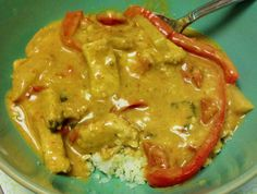 Atkins-Turned-Paleo Adventures In The Kitchen: Coconut Curry Chicken - Paleo