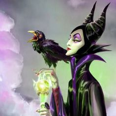 My favorite Disney villain - Malificent!