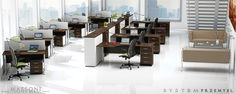 System mebli biurowych Economic to rozwiązanie funkcjonalnego wyposażenia biura za określony budżet.