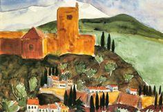Walter Gramatte Granada II Art Print Poster - 19x13