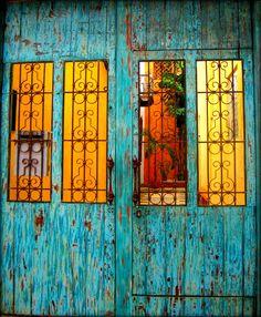 Doors, Cartagena de Indias, Colombia