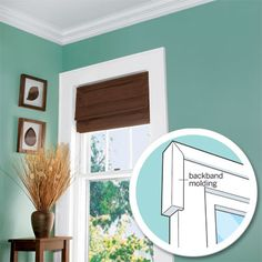 To enhance the depth and dimension of flat window casings, TOH's Norm Abram recommends wrapping them with backband molding. | Photo: Kolin Smith. Illustration: Jason Lee | thisoldhouse.com