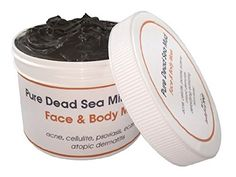 Pure Dead Sea Mud Mask 32 % Mineral Unscented Atoptic Dermatitis