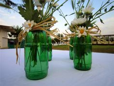 www.apuaeventi.it #picnic #party #margherite #centrotavola