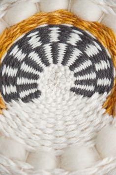Weaving Techniques || Weaving (Circular) Stripes