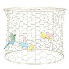 Abat-jour Cage à oiseaux