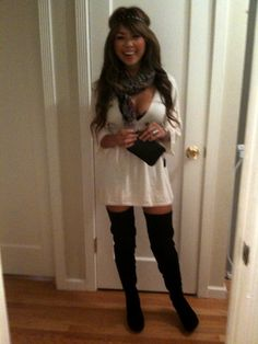 Facebook | only black thigh high boots | Pinterest | Facebook