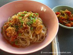 Burmese Food, Spicy Noodles - Rangoon, Burma (Yangon, Myanmar) #travel  #viator  http://www.viator.com/