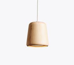 Material Pendant, Natural Pine, Design by Nørgaard & Kechayashttp://www.newworks.dk/