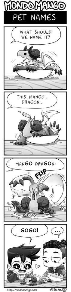 Mondo Mango :: Pet Names | Tapas - image 1