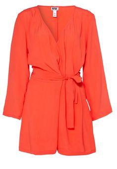 426800c03cd Make Way Flynn Playsuit Orange Ladies UK Size 10 24 D in Clothing