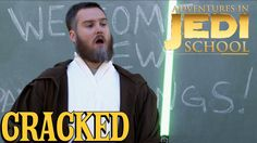 What better way to celebrate Star Wars Day than with Adventures in Jedi School? May the Fourth be with you.