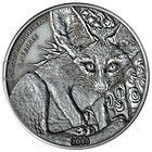 Fennec Fox Silver Coin Antique Finish 1000 Francs Niger 2013 - http://coins.goshoppins.com/world-coins/fennec-fox-silver-coin-antique-finish-1000-francs-niger-2013/