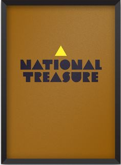 National Treasure (2004) ~ Minimal Movie Poster by Jesse Pyysalo