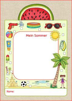 Heute gibt es eine kleine Idee für die ersten Schultage, die auch gleich das Klassenzimmer verschönern kann: eine Sommer-Erzählkarte. Die K...