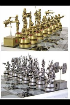 Star Wars chess set - want so bad!