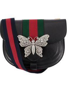 Gucci embellished shoulder bag