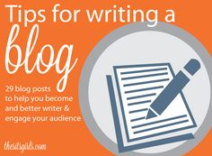 When it comes to writing a blog, there are fundamental skills and writing approaches that you need to know. This page summarizes our best writing tips.