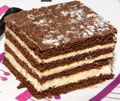 Csányi mézes Hungarian Desserts, Hungarian Cake, Hungarian Recipes, Cookie Recipes, Dessert Recipes, French Patisserie, Sweet And Salty, Creative Food, Food And Drink