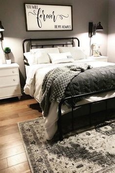 ✔️ 37 Comfortable Bedroom Decorating Ideas Pamper Yourself With Your Dream Master Bedroom 13 Topz Design topzdesign Bedroom Decoration Ideas … Stylish Bedroom, Cozy Bedroom, Bedroom Sets, Home Decor Bedroom, Bedroom Furniture, Bedroom Romantic, Furniture Ideas, Furniture Makeover, Cozy Master Bedroom Ideas