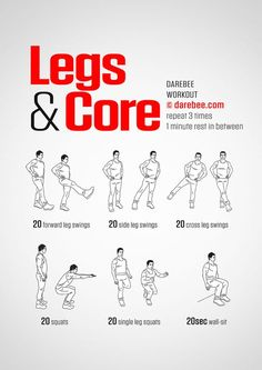 Legs & Core Workout