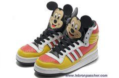 Adidas X Jeremy Scott Mickey Chaussures Sortie