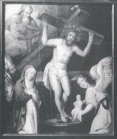 pressoir mystique, 1650', m s catherine, anvers, rijksmuseum, in D Alexandre-Bidon, le pressoir mystique, 1990, cerf