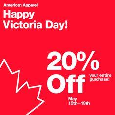 Happy Victoria Day W