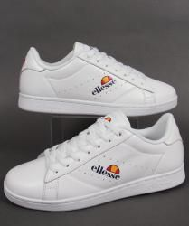 Ellesse Anzia Trainers in White/White
