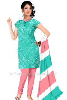 Cotton Satin Dress with work in Light Sea Green and Salmon Color Cotton Satin material used in this bandhani dress material Bandhani Dress, Satin Material, Salmon Color, Satin Dresses, My Style, Green, Cotton, Stuff To Buy, Sea