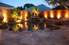 Backyard LED Landscape Lighting | Hometalk