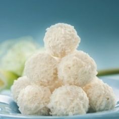 No Bake Coconut Balls. cookie exchange