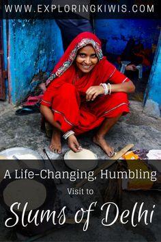 A Life-Changing, Humbling visit to Slums of Delhi