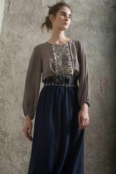 Fashion Now, Modest Fashion, Womens Fashion, Russian Fashion, Russian Style, Traditional Dresses, Indian Wear, Desi, Cold Shoulder Dress