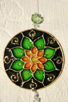 Mini Mandala Bibelô MP-70 Mandala Art, Mandala Painting, Mandala Design, Cd Crafts, Tile Crafts, Diy And Crafts, Arts And Crafts, Mystery Crafts, African Art Paintings