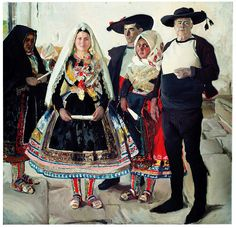 Joaquín Sorolla, Characters from Lagartera or Lagartera Bride, 1912.  Museo Sorolla, Madrid.