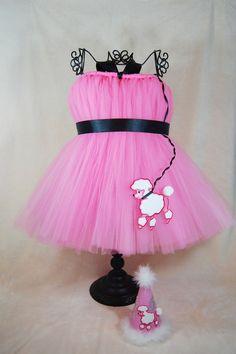 Atutudes Paris Pink Poodle Tutu Dress  Custom Sizes by atutudes, $44.95