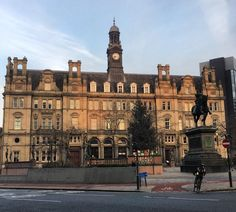 The old Post Office #building #Christmas #tree and Black Prince #statue in #Leeds #City Square this morning. #architecture #history #culture #clock #art #history #geography #Yorkshire #England #IgersLeeds #IgersYorkshire #IgersEngland #travel #tourism #tourist #leisure #life #visitleeds #leeds2023 #leedsbid