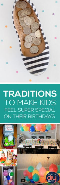 7 Easy Traditions for Birthdays! - Design DIY Ideas birthday traditions<br> You don't have to spend a lot of money to make birthdays feel special. Check out these kids birthday traditions that are simple ideas with a big impact. Special Birthday, Birthday Fun, Birthday Parties, Birthday Celebrations, Birthday Ideas, Birthday Message, Birthday Stuff, Birthday Morning Surprise, Birthday Gifts