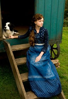 Costume design by Janet Patterson for Carey Mulligan at the Madding Crowd Source by b_bdcs Carey Mulligan, Period Costumes, Movie Costumes, Diy Costumes, Vintage Outfits, Vintage Fashion, Vintage Clothing, Belle Epoque, Far From Madding Crowd