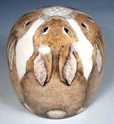 This would be so cute painted on rocks!Rabbits MXS