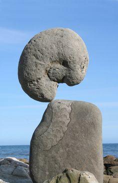 Adrian Gray : Stone Balancing : Classic Jurassic